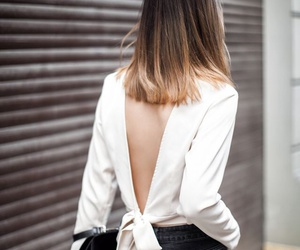 girl, style, and cabello image