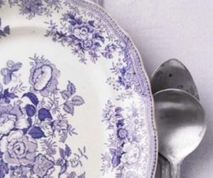 background, plato, and cuchara image