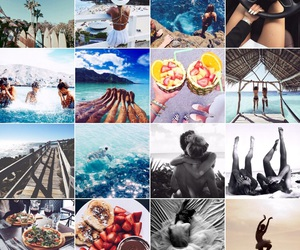 food, summer, and vibes image