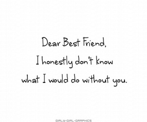best friend and quote image