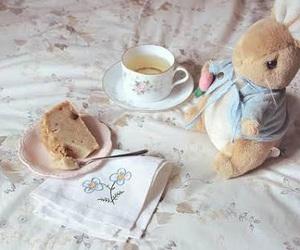 tea, cute, and bunny image