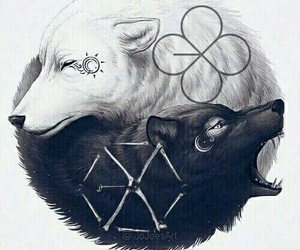 exo, monster, and lucky one image