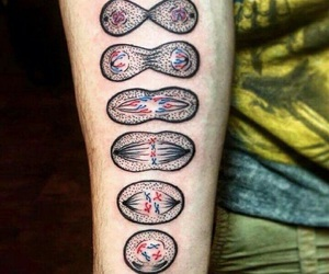 biology and tattoo image