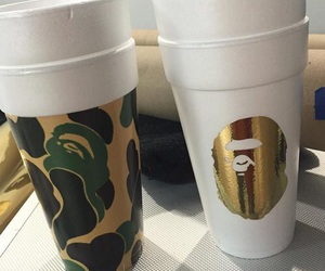 bape, ghetto, and cup image