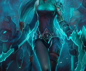 akali, league of legends, and lol image