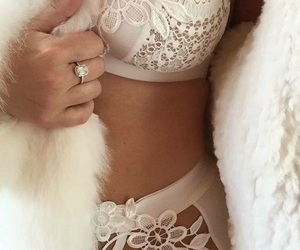 lingerie, lace, and sexy image