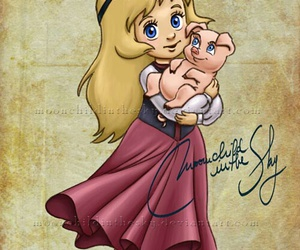 disney, eilonwy, and princess image