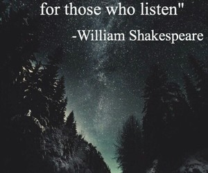 quote, music, and william shakespeare image