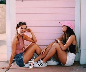 bff, street style, and summer image