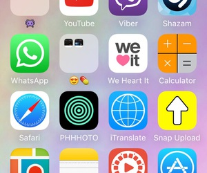 iphone, layout, and apps image
