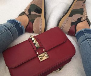 fashion, red, and Valentino image