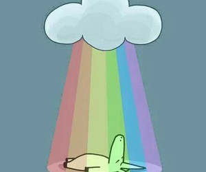 rainbow, unicorn, and cute image