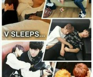 army, funny, and sleeping image