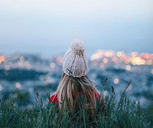 beanie, girl, and hipster image