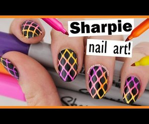 beauty, nail art, and bright image