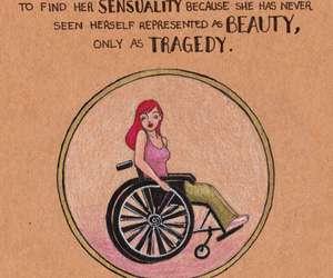 carol rossetti, feminism, and wheelchair image