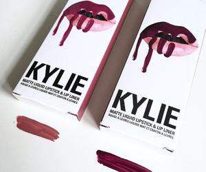 kylie and makeup image