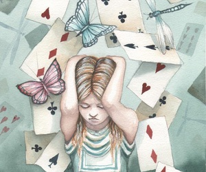 alice in wonderland, artistic, and dominic murphy image