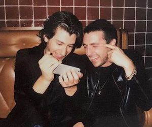 alex turner, miles kane, and the last shadow puppets image