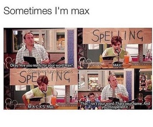 max, funny, and wizards of waverly place image