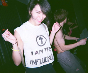 girl, party, and indie image