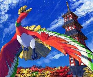 pokemon, pokemon gold, and legendary pokemon image