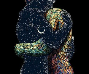 love, art, and stars image