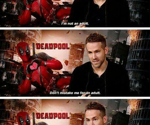 deadpool, funny, and quotes image