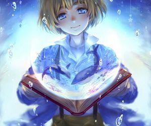 anime, armin, and shingeki no kyojin image