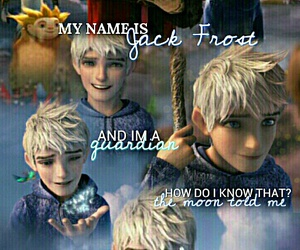 jack frost, moon, and rise of the guardianes image