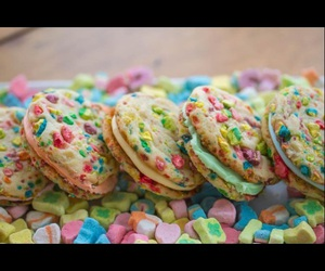Cookies, icing, and luckycharms image