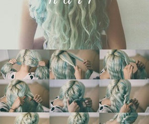 bluehair, hair, and tutorial image