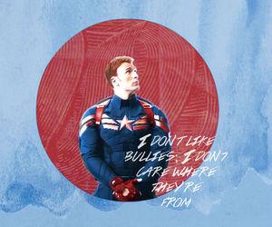 captain america, civil war, and steve rogers image