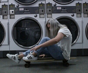 dark, independent, and laundry image