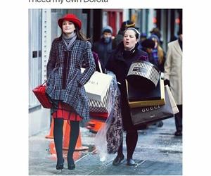 blair waldorf and gossip girl image