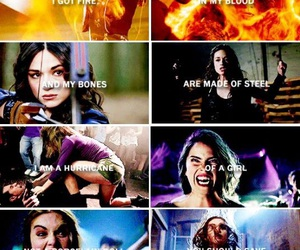 teen wolf, strong, and allison argent image