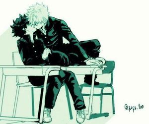 yaoi, boku no hero academia, and bakugou katsuki image