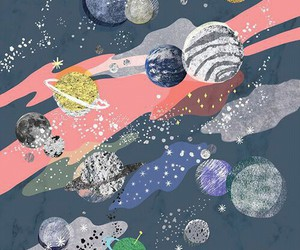 planet, space, and wallpaper image