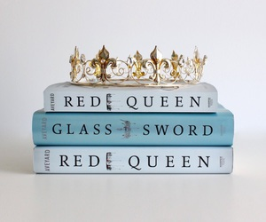 victoria aveyard, glass sword, and books image