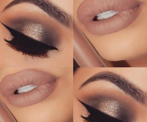 beauty, glam, and lips image