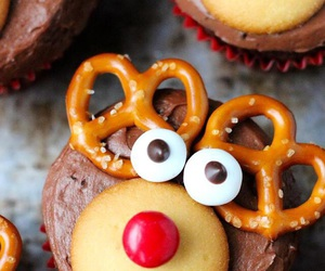 reindeer, for kids, and tasty image