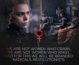 crawl, feminism, and quote image