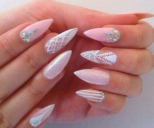 lovely, summer nails, and nails image