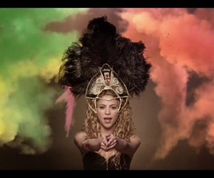beautiful, shakira, and brazil 2014 image