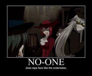 kuroshitsuji, undertaker, and madam red image
