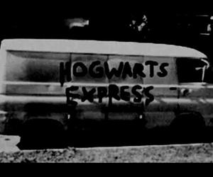 hogwarts, harry potter, and hogwarts express image