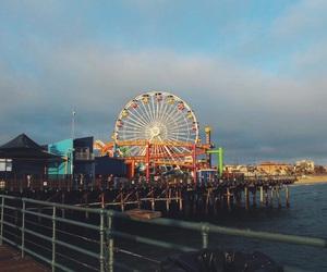 pier, santa monica, and santa monica pier image