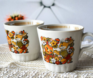 coffee cups, etsy, and his and hers image