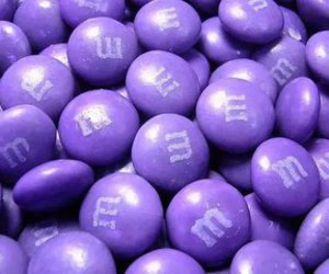 purple, m&m's, and m&m image