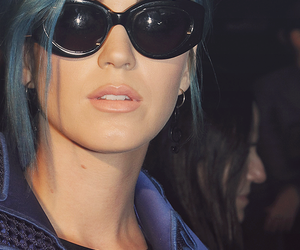 blue hair, hair, and katy perry image